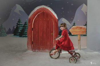 fotografia mini sesion de navidad infantil book estudio valencia niños vintage fotografia toni lara