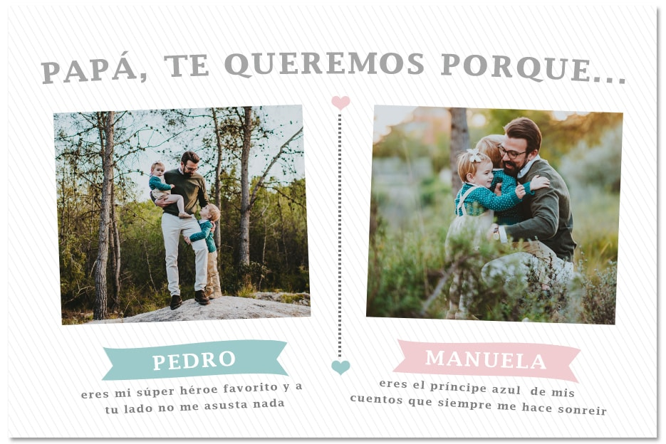 reportaje dia del padre y life style vintage toni lara familias