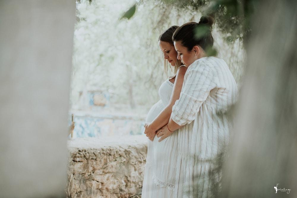 sesion de embarazada en valencia fotografo de maternidad vintage fotografia toni lara
