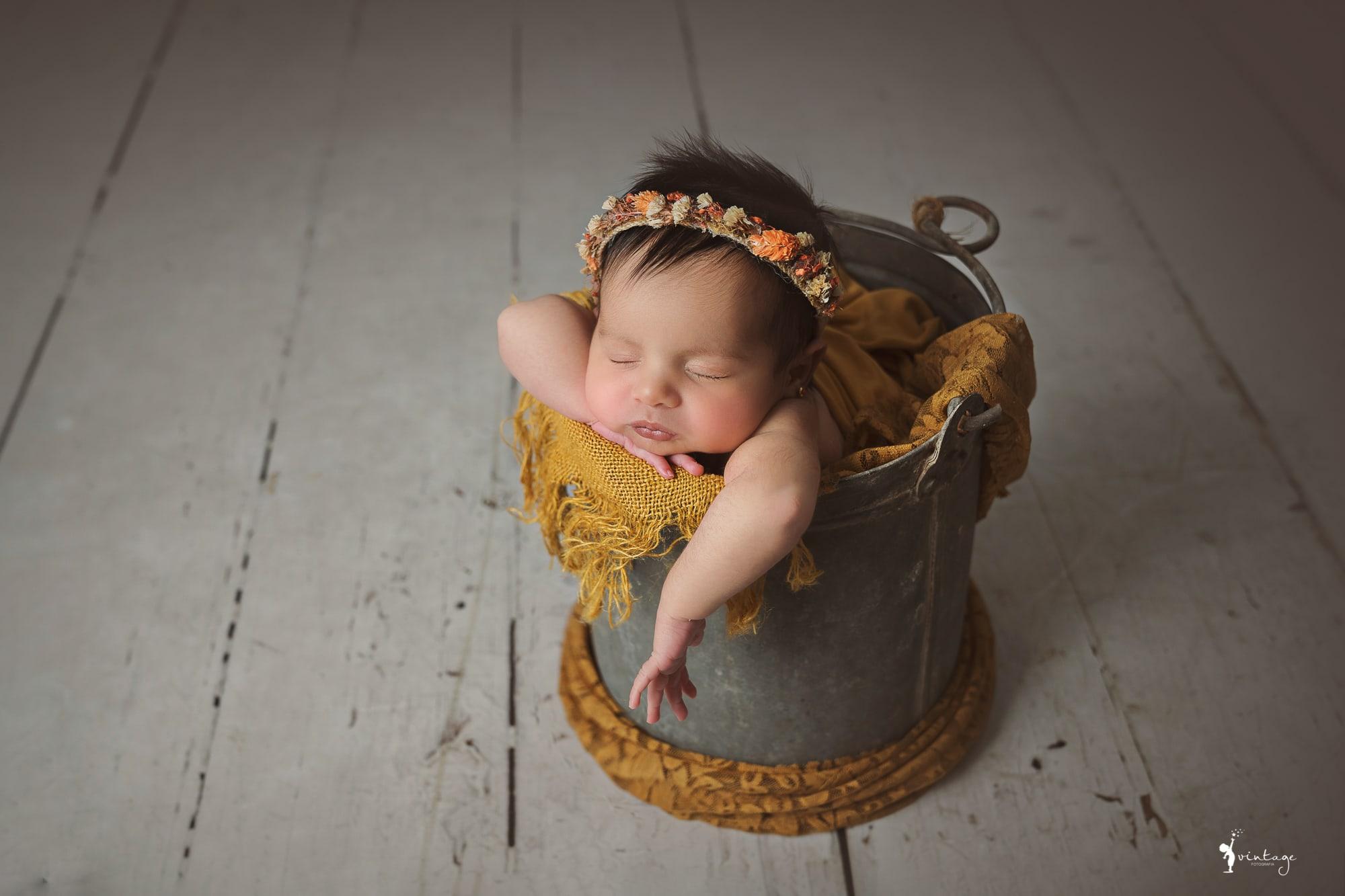 sesion de recien nacido book neborn bebes vintage fotografia toni lara